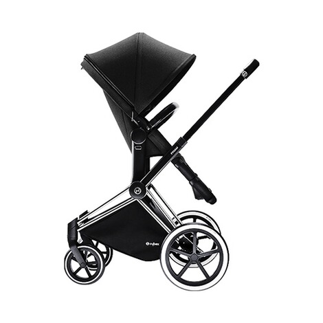 CYBEX PLATINUM Priam Kinderwagenaufsatz & 2-in1 Light Sitz  Happy Black 2