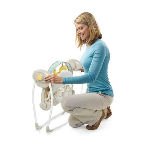 INGENUITY  Babyschaukel Soothe'n Delight Portable Swing™ 8