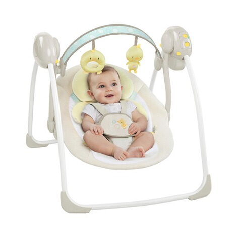 INGENUITY  Babyschaukel Soothe'n Delight Portable Swing™ 4