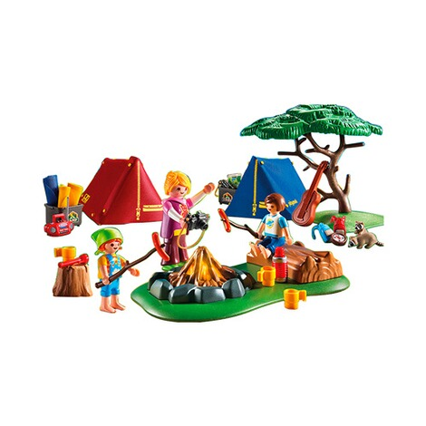 PLAYMOBIL® SUMMER FUN 6888 Zeltlager mit LED-Lagerfeuer 2