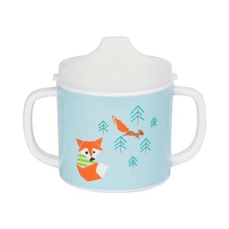 LÄSSIG 4KIDS Trinklerntasse Little Tree Fox 1