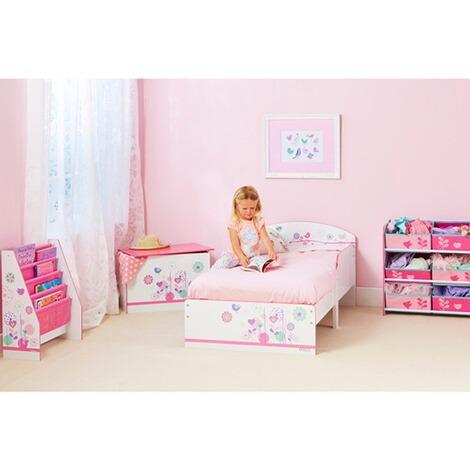 worldsapart kinderbett blumen schmetterlinge 70x140 cm online kaufen baby walz. Black Bedroom Furniture Sets. Home Design Ideas
