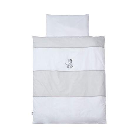 easy baby bettw sche zebra 40x60 100x135 cm online kaufen baby walz. Black Bedroom Furniture Sets. Home Design Ideas