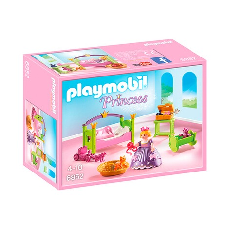 Playmobil princess 6852 prinzessinnen kinderzimmer online for Kinderzimmer playmobil