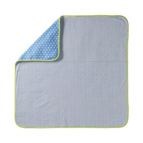 BORNINO DOTS & STRIPES Babydecke 1