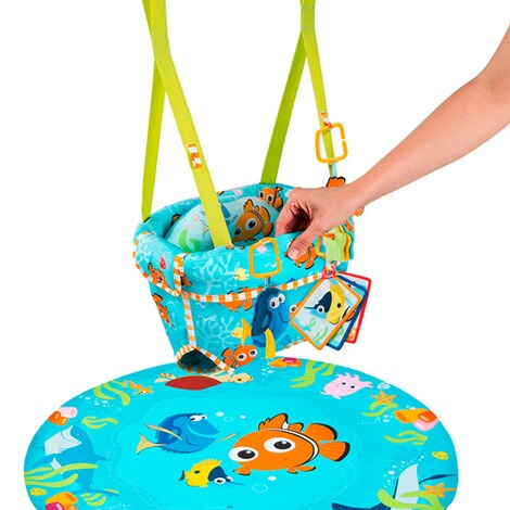 BRIGHT STARTS DISNEY BABY Türhopser Finding Nemo Sea of Activities 4
