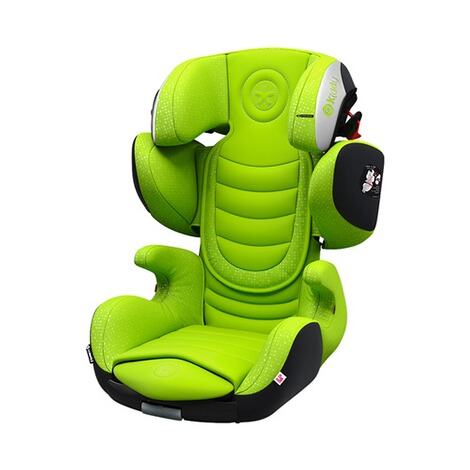 KIDDY CRUISERFIX 3 Kindersitz Design 2017  Lime green 1