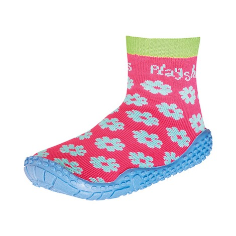 PLAYSHOES  Aquasocken  Blumen pink 1