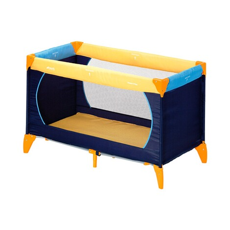 HAUCK  Reisebett Dream´n Play  yellow/blue 1