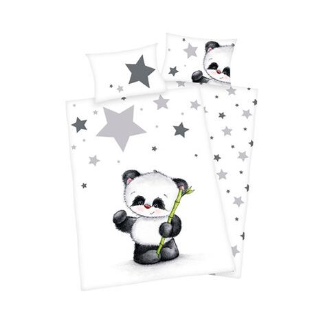 herding bettw sche panda 40x60 100x135 cm online kaufen. Black Bedroom Furniture Sets. Home Design Ideas