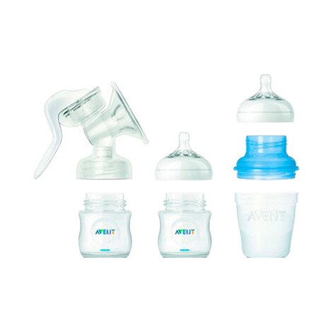 PHILIPS AVENT  3tlg. Neugeborenen-Set, SCD291/02, Glas, 125-240ml 2