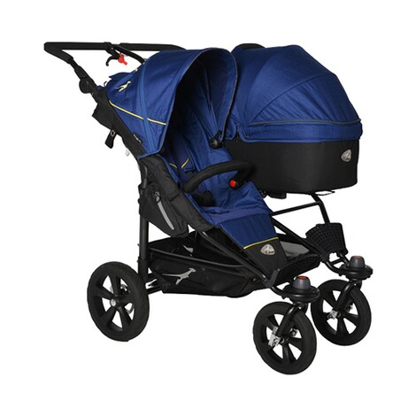 TFK  Twin Tragewanne für Twin Adventure, Twin Trail  Twilight Blue 4