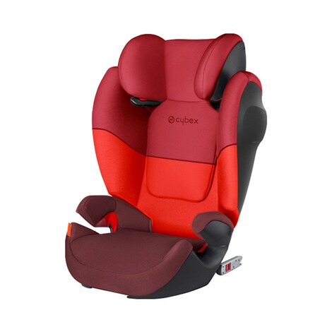 CYBEX SILVER Solution M-Fix SL Kindersitz Design 2017  Rumba Red 2