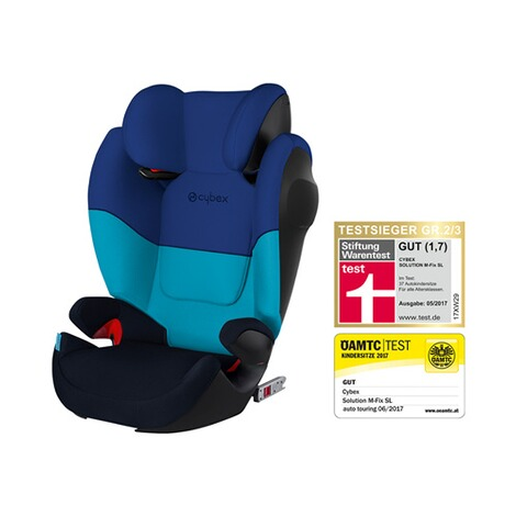 CYBEX SILVER Solution M-Fix SL Kindersitz Design 2017  Blue Moon 1