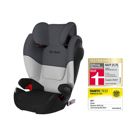 CYBEX SILVER Solution M-Fix SL Kindersitz Design 2017  Grey Rabbit 1
