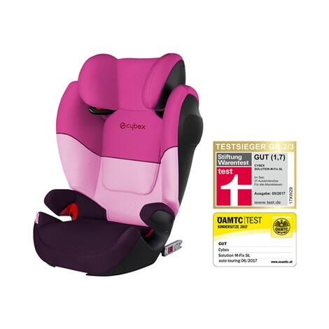 CYBEX SILVER Solution M-Fix SL Kindersitz Design 2017  Purple Rain 1