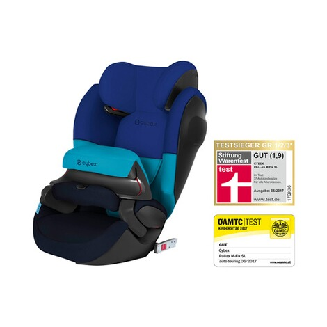 CYBEX SILVER Pallas M-Fix SL Kindersitz Design 2017  Blue Moon 1