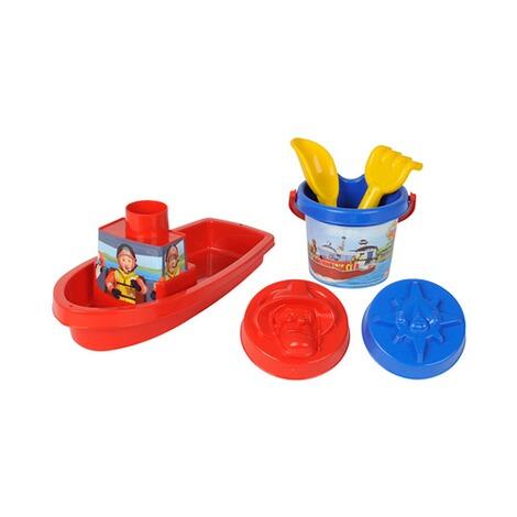 simba feuerwehrmann sam 6 tlg sandspielzeug set boot feuerwehrmann sam online kaufen baby walz. Black Bedroom Furniture Sets. Home Design Ideas