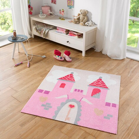 zala living teppich schloss 100x100 cm online kaufen baby walz. Black Bedroom Furniture Sets. Home Design Ideas