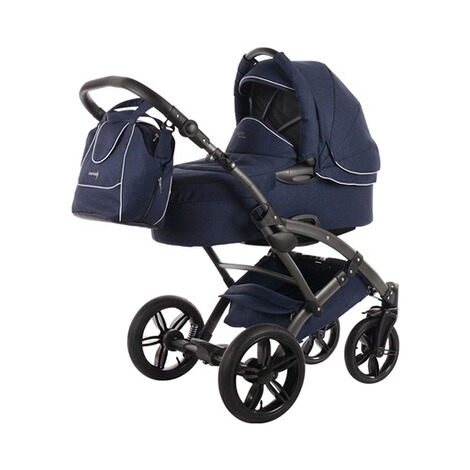KNORR-BABY  Voletto Emotion Kombikinderwagen Design 2017  night blue 1