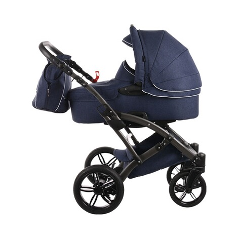KNORR-BABY  Voletto Emotion Kombikinderwagen Design 2017  night blue 2