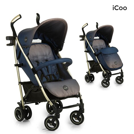ICOO  Pace Buggy mit Liegefunktion  dressblue 1
