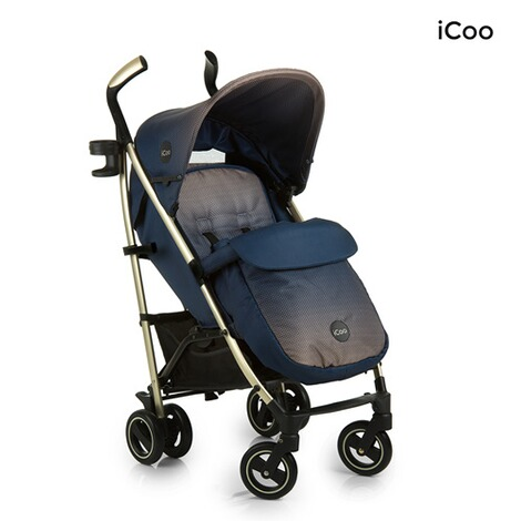ICOO  Pace Buggy mit Liegefunktion  dressblue 3