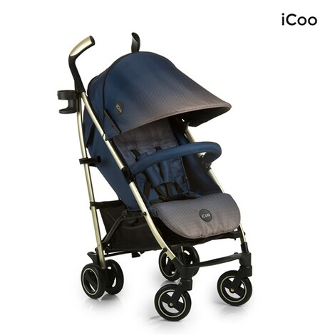 ICOO  Pace Buggy mit Liegefunktion  dressblue 4