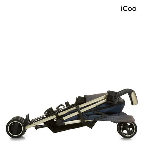 ICOO  Pace Buggy mit Liegefunktion  dressblue 7