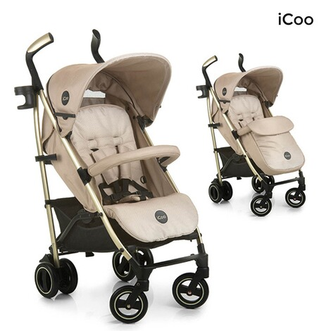 ICOO  Pace Buggy mit Liegefunktion  sahara 1