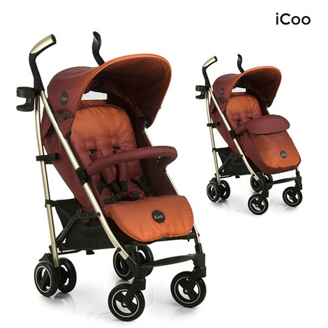 ICOO  Pace Buggy mit Liegefunktion  mocca 1