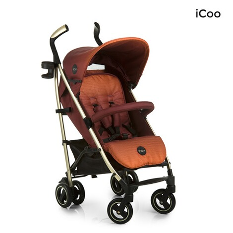 ICOO  Pace Buggy mit Liegefunktion  mocca 2