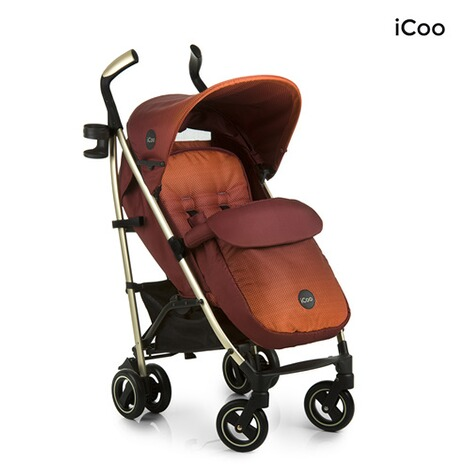 ICOO  Pace Buggy mit Liegefunktion  mocca 3