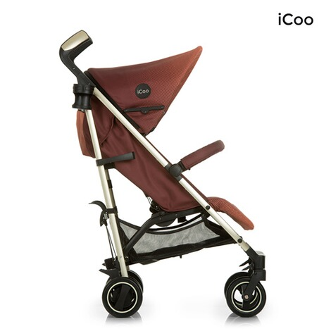 ICOO  Pace Buggy mit Liegefunktion  mocca 5