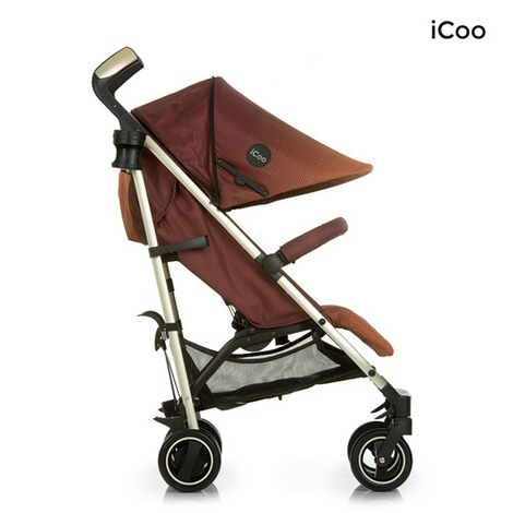 ICOO  Pace Buggy mit Liegefunktion  mocca 6