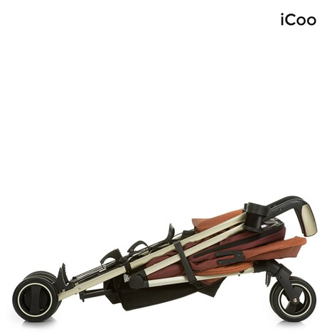 ICOO  Pace Buggy mit Liegefunktion  mocca 7
