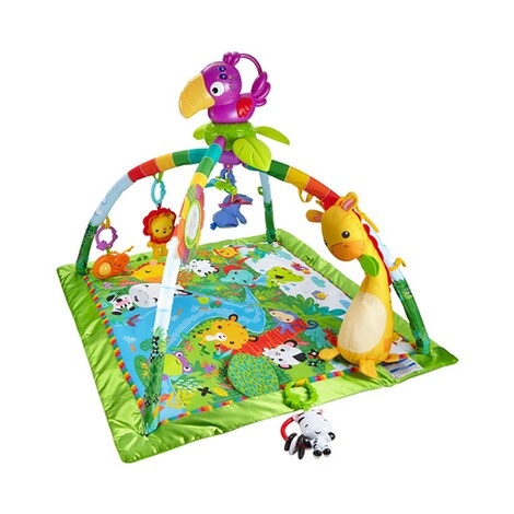 fisher price spielbogen rainforest mit erlebnisdecke. Black Bedroom Furniture Sets. Home Design Ideas