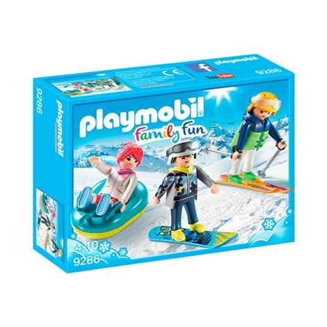 PLAYMOBIL® FAMILY FUN 9286 Freizeit-Wintersportler 1
