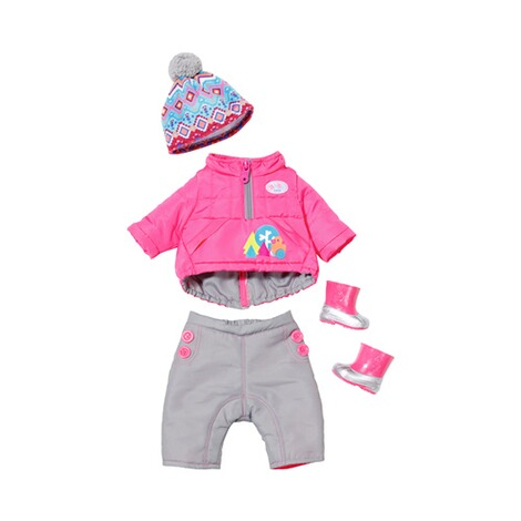 ZAPF BABY BORN Puppen Outfit Winter-Set Deluxe Play&Fun 1