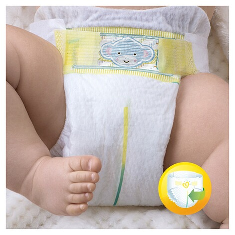 PAMPERS  Premium Protection Windeln New Baby Gr. 2 Mini 3-6 kg Jumbopack 68 Stück 3