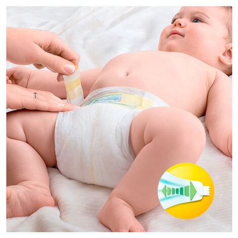 PAMPERS  Premium Protection Windeln New Baby Gr. 2 Mini 3-6 kg Jumbopack 68 Stück 2