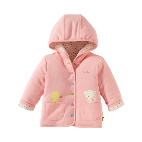 BORNINO CONFETTI ANIMALS Wendejacke 2