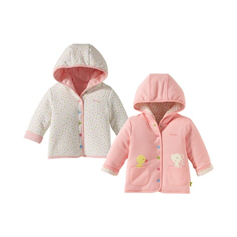 BORNINO CONFETTI ANIMALS Wendejacke 1