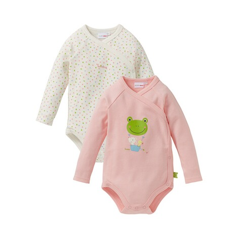 BORNINO CONFETTI ANIMALS 2er-Pack Wickelbody 1