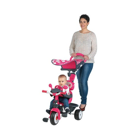 SMOBY  Dreirad Baby Driver Komfort 4 in 1  pink 2