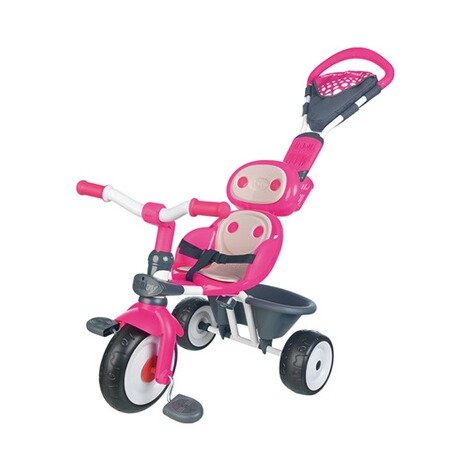 SMOBY  Dreirad Baby Driver Komfort 4 in 1  pink 3