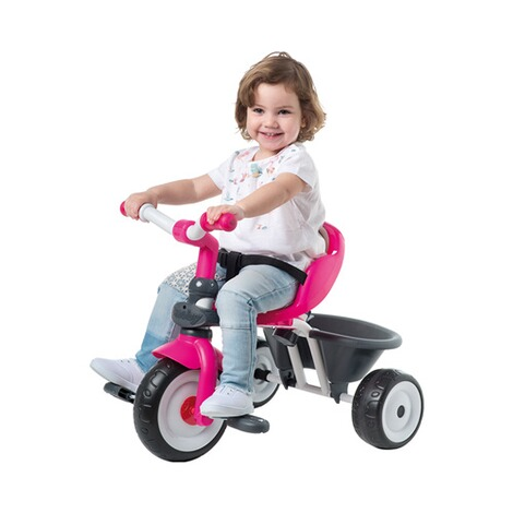 SMOBY  Dreirad Baby Driver Komfort 4 in 1  pink 4