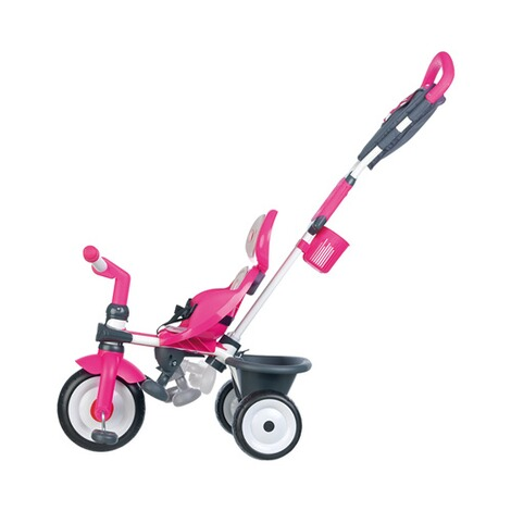 SMOBY  Dreirad Baby Driver Komfort 4 in 1  pink 5