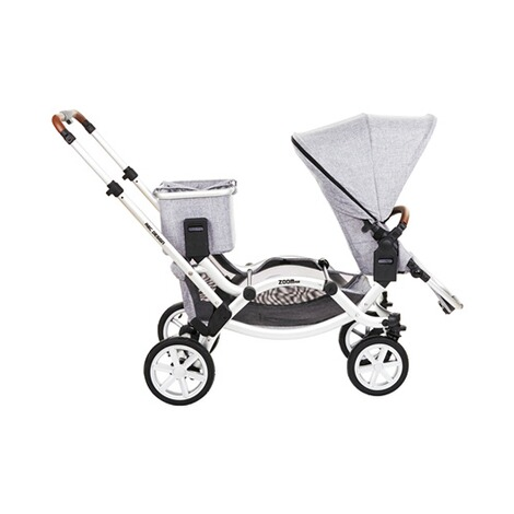 ABC DESIGN ZOOM AIR Zwillings- und Geschwisterwagen Design 2018  graphite grey 8