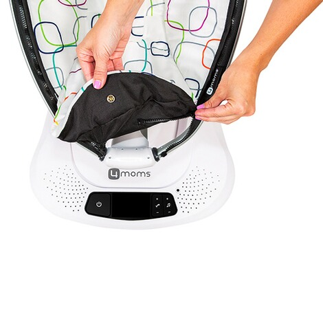 4MOMS MAMAROO 4 Babywippe 3D  Classic Grey 6